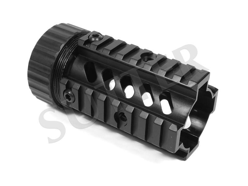 Quad Rail Handguard System 115mm - 4x 21mm Profilschiene