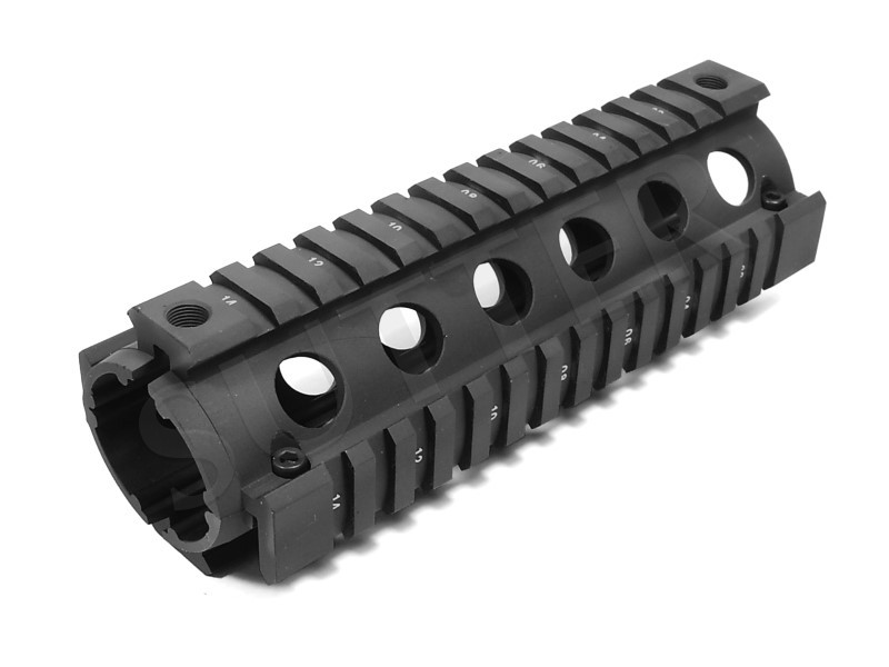 Quad Rail Handguard System 170mm - 4x 21mm Profilschiene