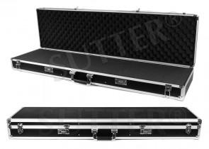 Valigia in aluminium per armi 120x37x14cm