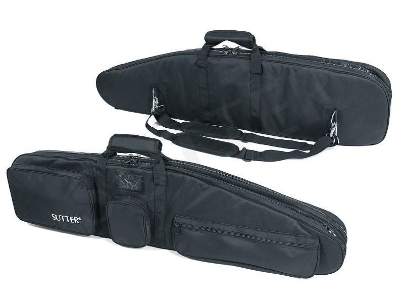 PREMIUM Doppel-Waffentasche 125x37cm - Für zwei Langwaffen mit Optiken